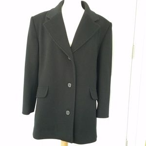 Bromley Collection Vintage Wool Coat USA Made 16